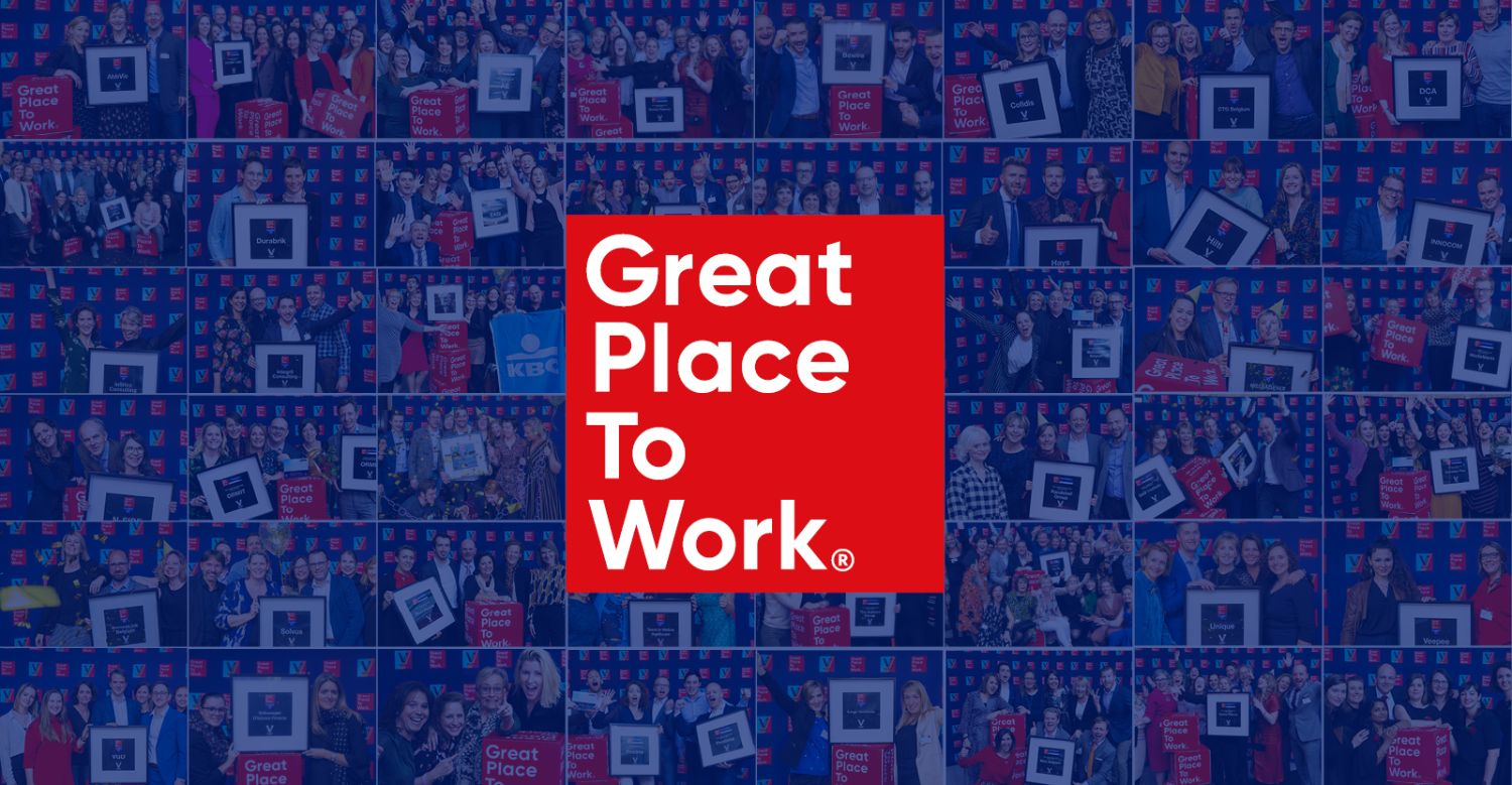44 Belgian Companies can call themselves a 'Great Place to Work®'