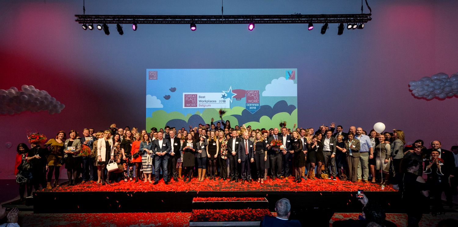 35 Belgian Companies Crowned Great Place to Work®